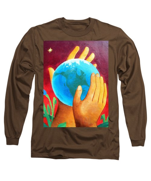 What A Wonderful World ... Long Sleeve T-Shirt