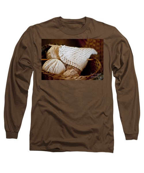 What Will It Be Long Sleeve T-Shirt by Wilma  Birdwell