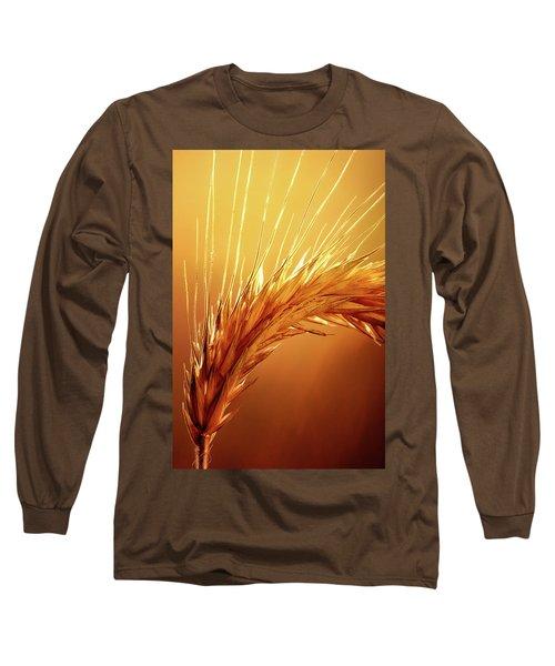 Wheat Close-up Long Sleeve T-Shirt