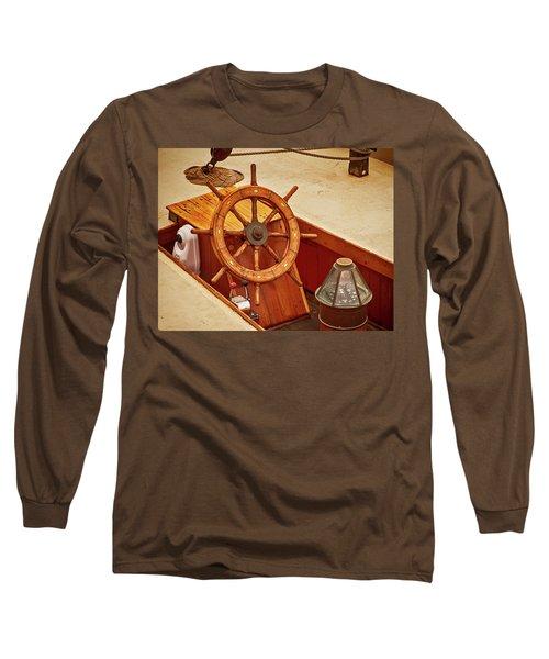 Wheel And Compass 2 Long Sleeve T-Shirt