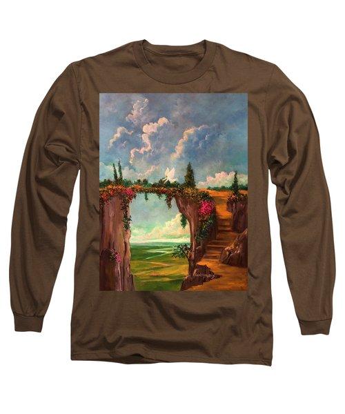 When Angels Garden In Heaven Long Sleeve T-Shirt