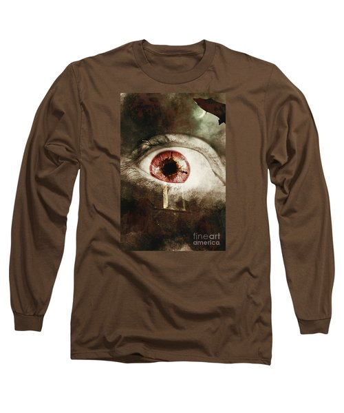 Long Sleeve T-Shirt featuring the photograph When Souls Escape by Jorgo Photography - Wall Art Gallery