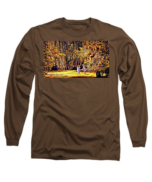 Long Sleeve T-Shirt featuring the photograph When We Were Young... by Barbara Dudley