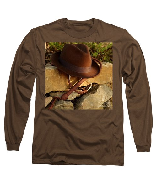 Where Is Indiana? Long Sleeve T-Shirt