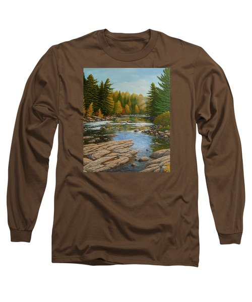 Where The River Flows Long Sleeve T-Shirt