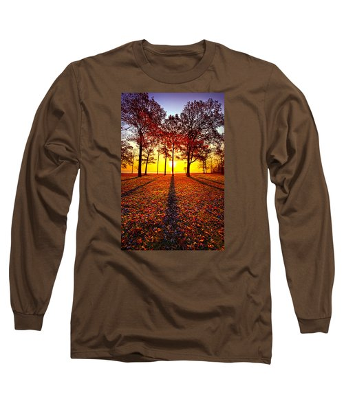 Where You Have Been Is Part Of Your Story Long Sleeve T-Shirt by Phil Koch