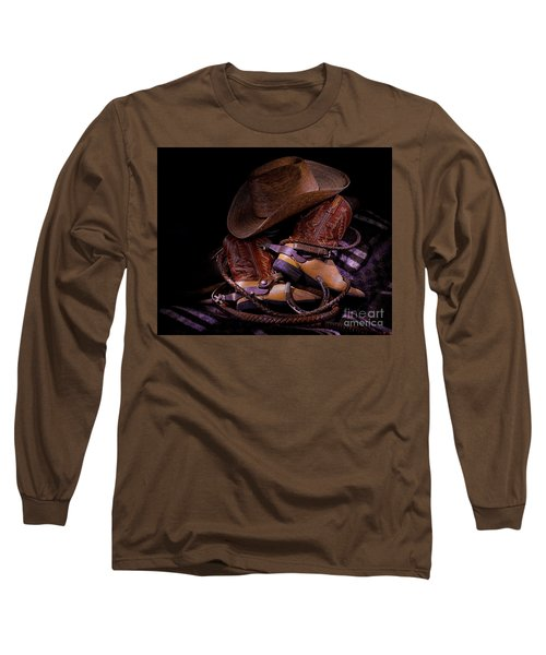 Whip It Cowboy Long Sleeve T-Shirt