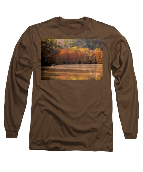 Whispering Mist Long Sleeve T-Shirt by Iris Greenwell
