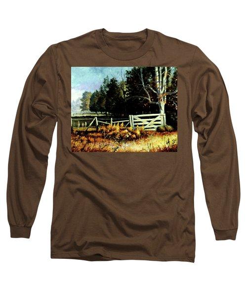White Gate Long Sleeve T-Shirt