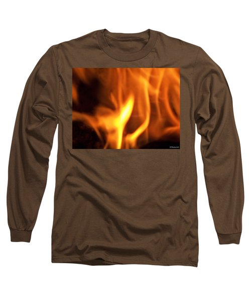 Long Sleeve T-Shirt featuring the photograph White Hot by Betty Northcutt