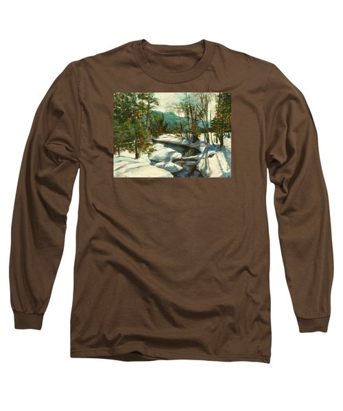 White Mountain Winter Creek Long Sleeve T-Shirt