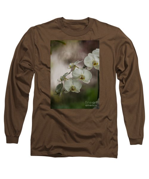 White Of The Evening Long Sleeve T-Shirt by Mike Reid