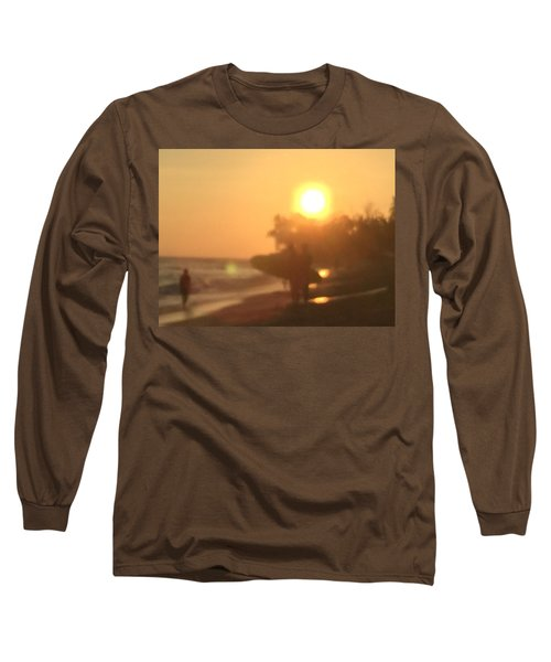 White Plains Beach Long Sleeve T-Shirt