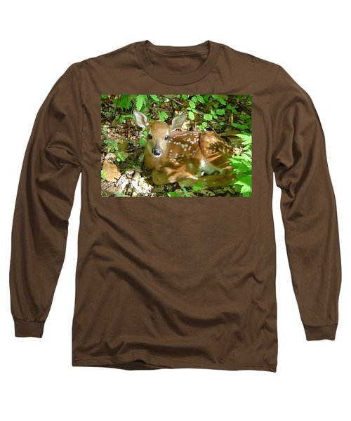Whitetail Fawn II Long Sleeve T-Shirt