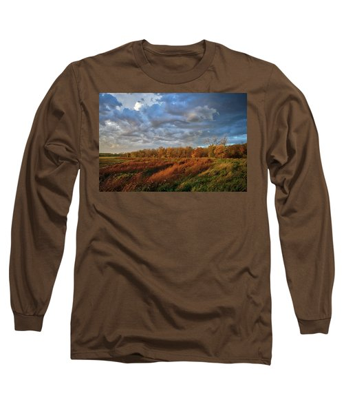 Who Has Seen The Wind? Long Sleeve T-Shirt by Keith Boone