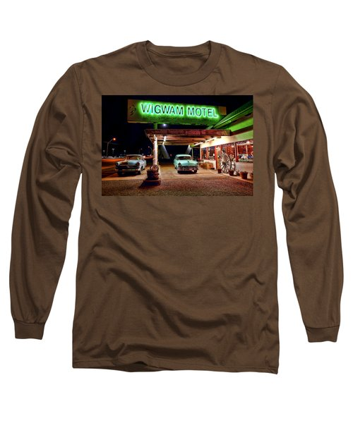 Wigwam Motel Long Sleeve T-Shirt