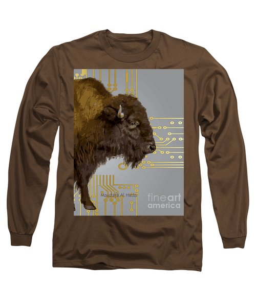 The American Buffalo Long Sleeve T-Shirt