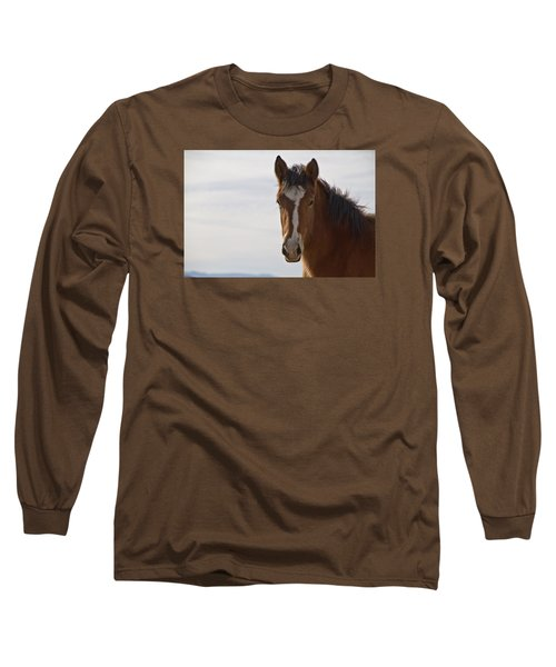 Wild Mustang Yearling Long Sleeve T-Shirt