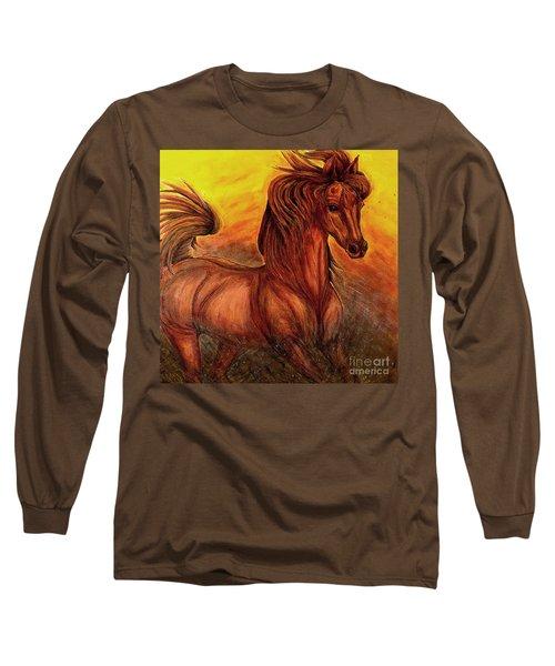 Wild Spirit Long Sleeve T-Shirt by Kim Jones