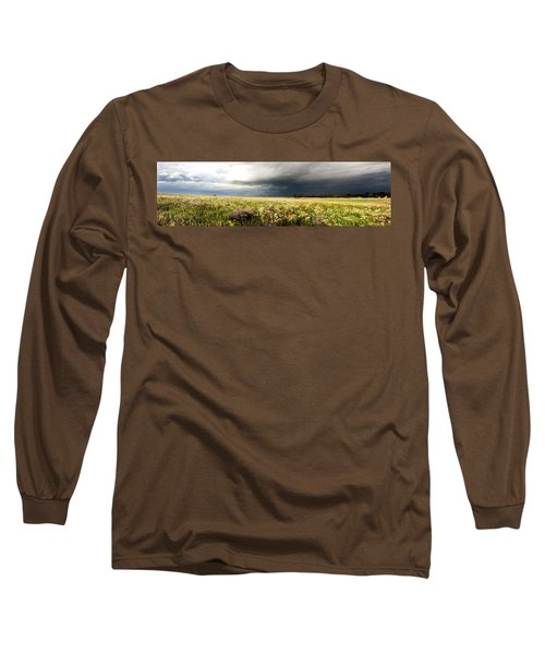Wildflower Panorama 2008 Long Sleeve T-Shirt
