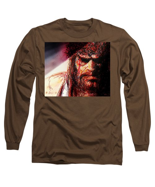 Willem Dafoe - Actor Long Sleeve T-Shirt by Hartmut Jager