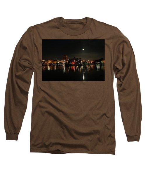 Wilmington Nc At Night Long Sleeve T-Shirt