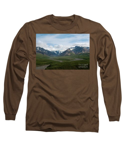 Winding Water Ways Long Sleeve T-Shirt