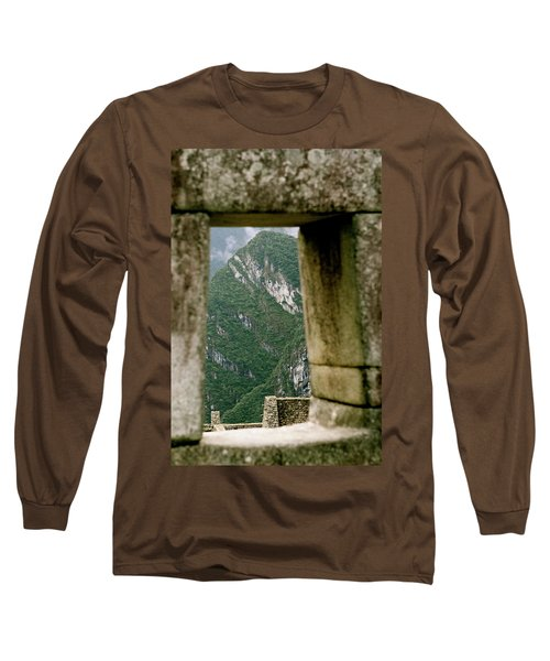 Window To The Gifts Of The Pachamama Long Sleeve T-Shirt