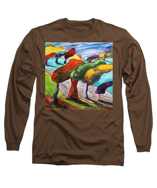 Windswept Morning Long Sleeve T-Shirt
