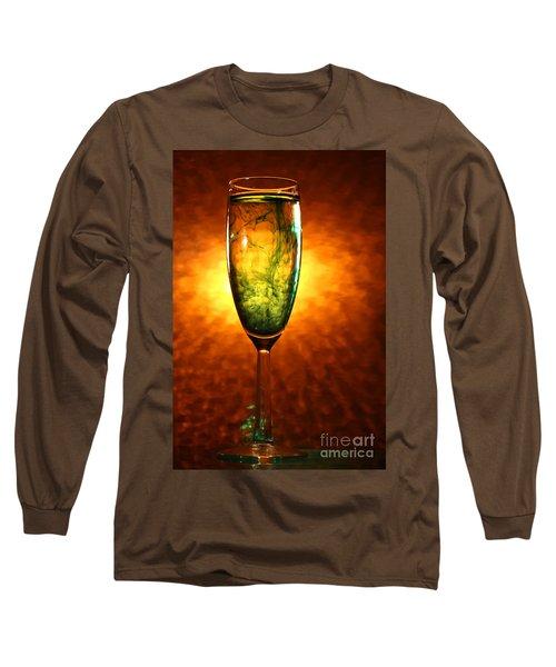 Wine Glass  Long Sleeve T-Shirt