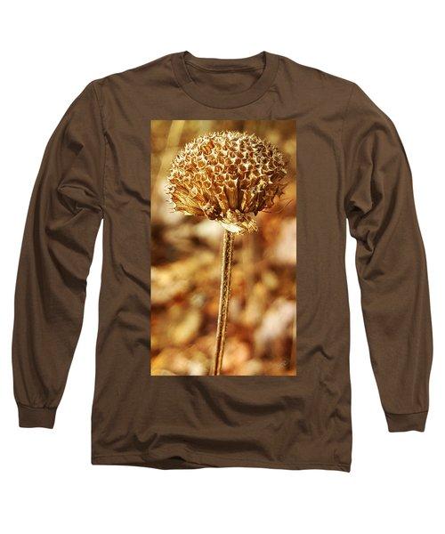Winter Bee Balm Long Sleeve T-Shirt