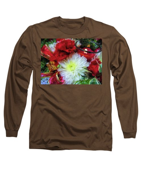 Long Sleeve T-Shirt featuring the photograph Winter Holiday  by Peggy Hughes