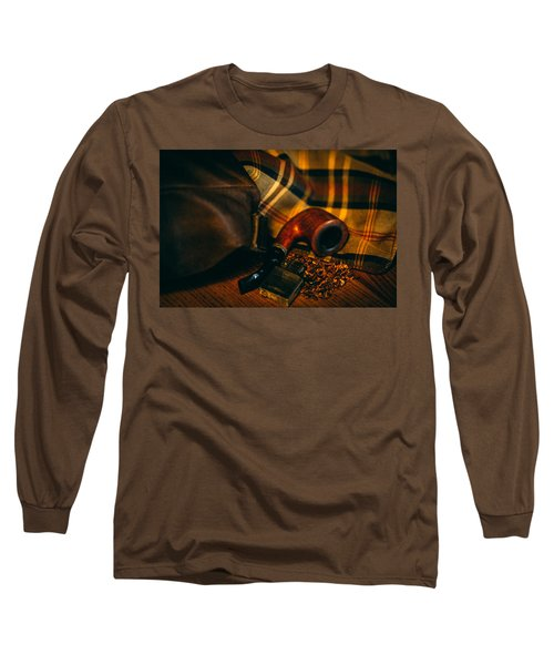 Winter In The Air Long Sleeve T-Shirt by Cesare Bargiggia