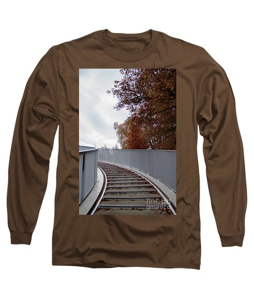 Winter Is Around The Corner Long Sleeve T-Shirt by Ana Mireles