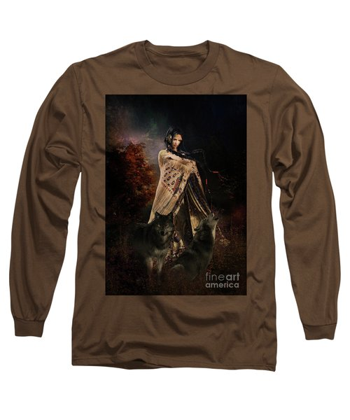 Wolf Song Long Sleeve T-Shirt by Shanina Conway