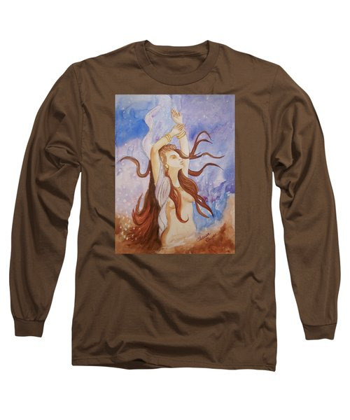 Woman Unleashed Long Sleeve T-Shirt by Teresa Beyer