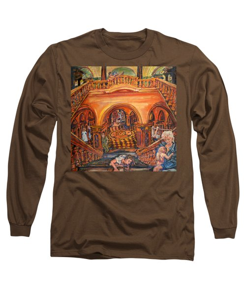 Woman's Place In Society Long Sleeve T-Shirt