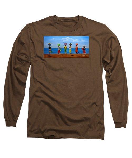 Women Of Africa  Long Sleeve T-Shirt