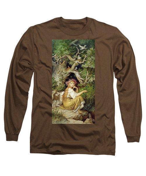 Wood Nymph  Long Sleeve T-Shirt