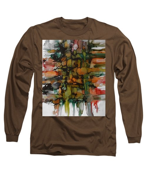 Woven Long Sleeve T-Shirt