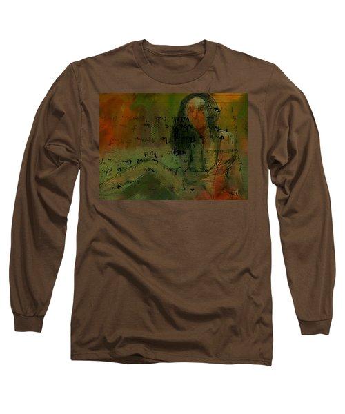 Written Out Long Sleeve T-Shirt by Jim Vance