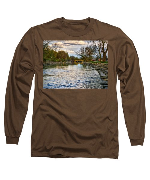 Yahara River, Madison, Wi Long Sleeve T-Shirt