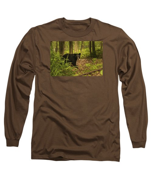 Yearling Black Bear Long Sleeve T-Shirt