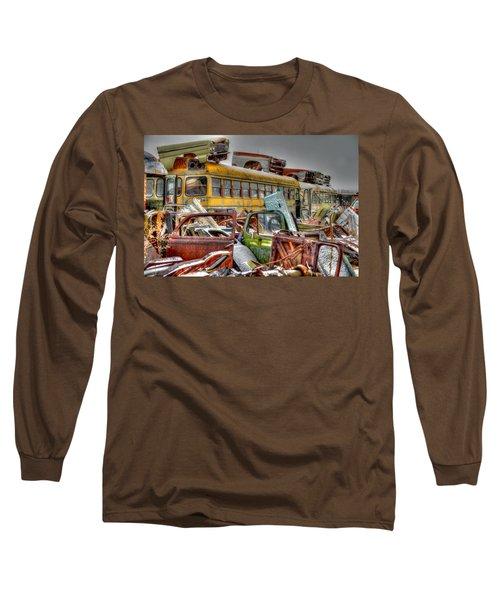 Yellow Bus Long Sleeve T-Shirt
