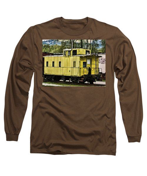 Yellow Caboose Long Sleeve T-Shirt