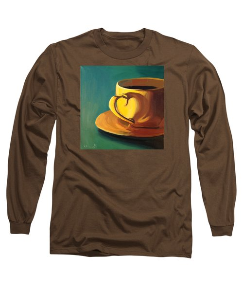 Yellow Java Long Sleeve T-Shirt by Nathan Rhoads