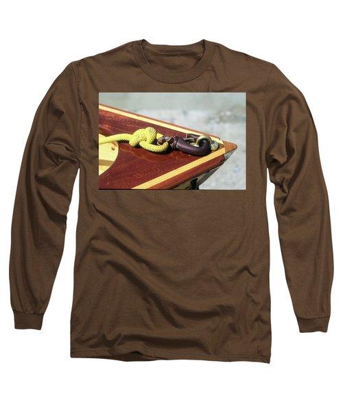 Yellow Line Long Sleeve T-Shirt