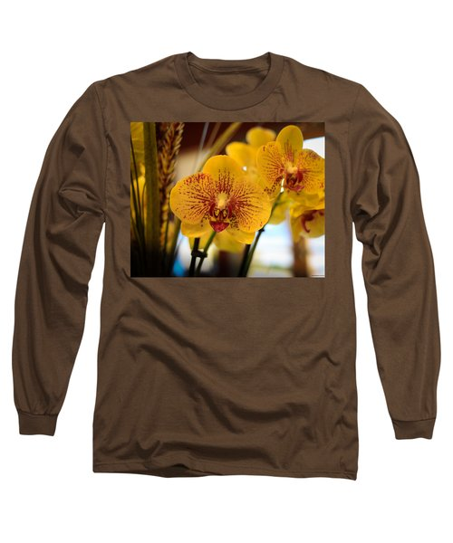 Yellow Orchis Long Sleeve T-Shirt