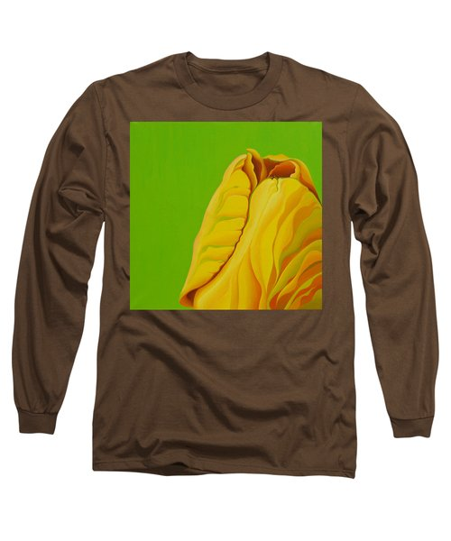 Yellow Somebuddy Long Sleeve T-Shirt