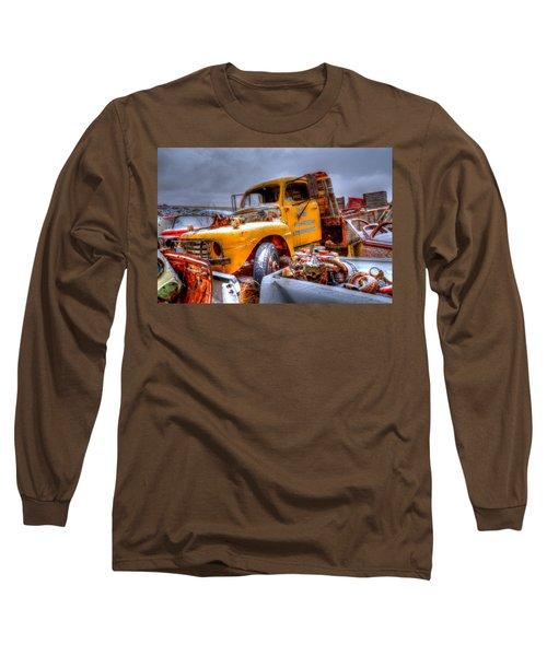Yellow Truck Long Sleeve T-Shirt